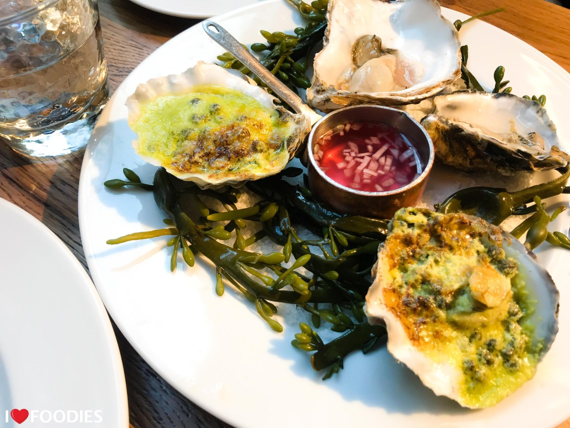 Coal Shed oysters