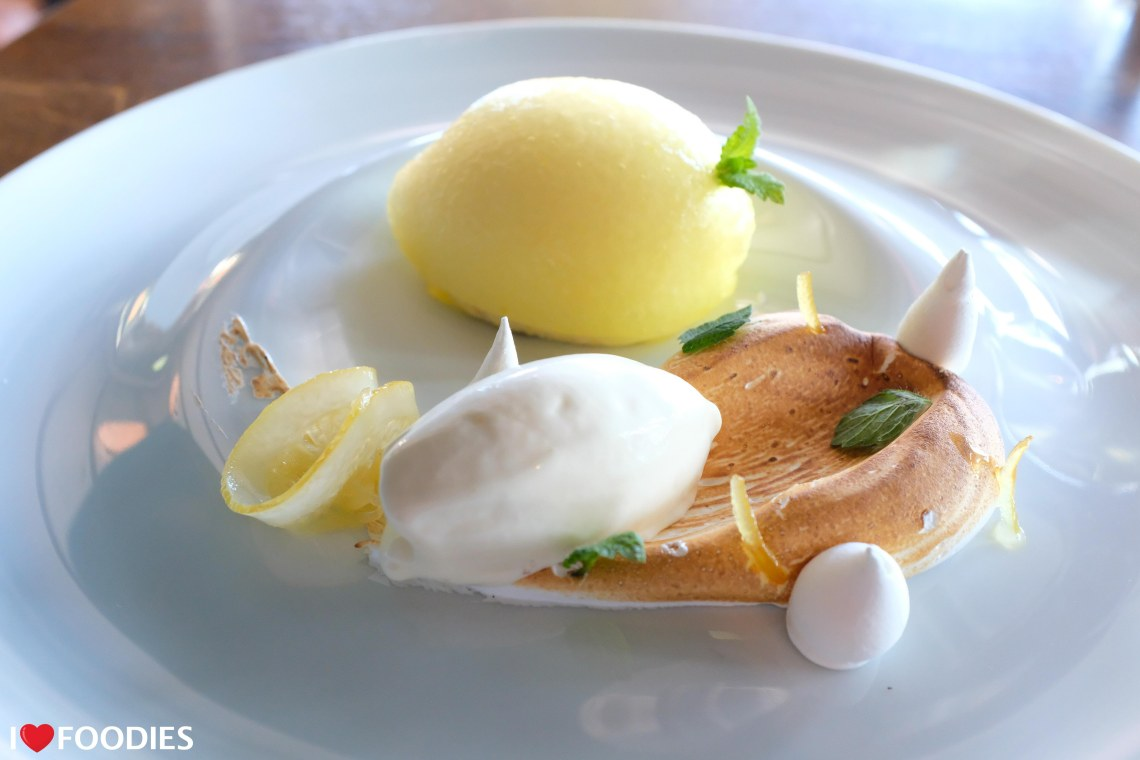 Oxford Blue lemon parfait
