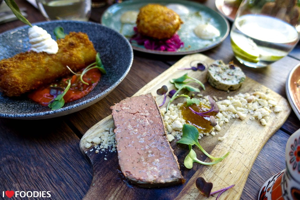 Roast & Co Happy Hour Deal liver pate
