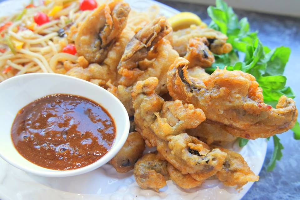 Vegan Tempura Battered Mushroom Recipe