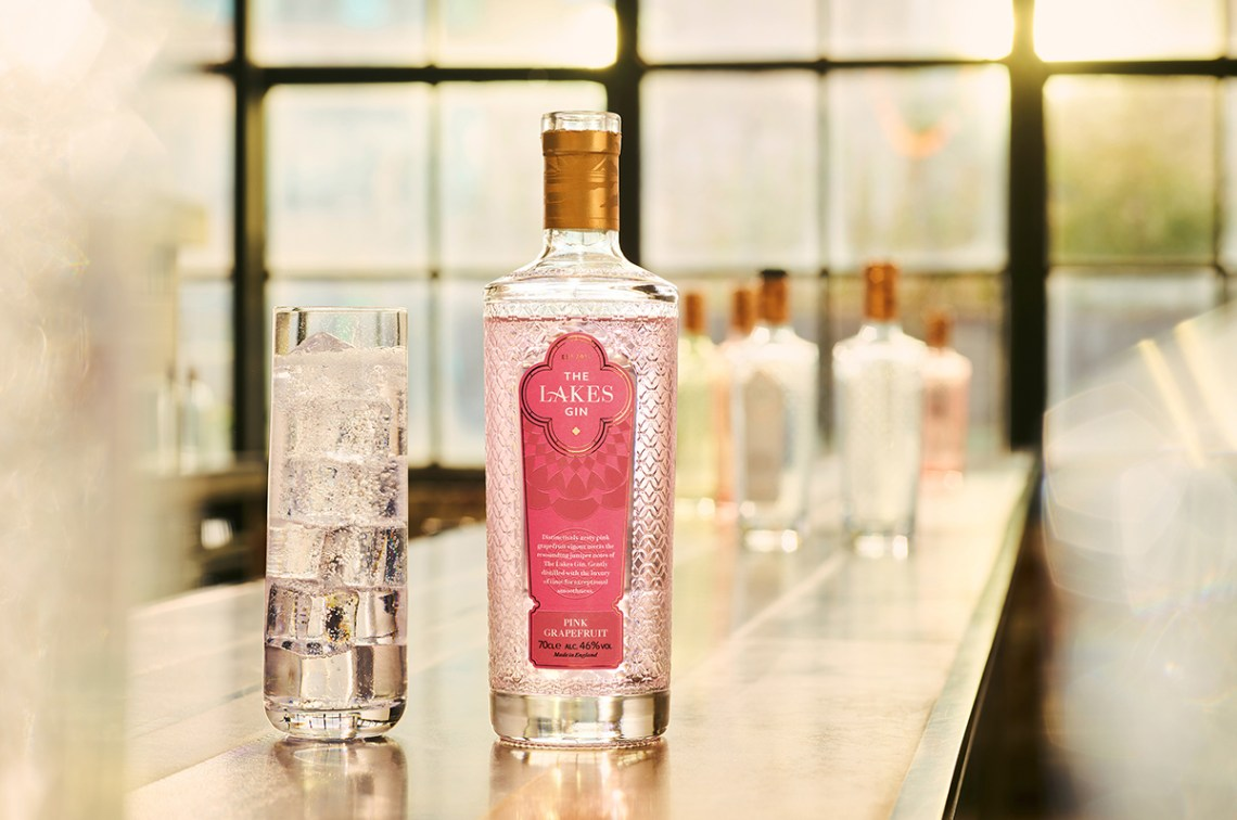 The Lakes Distillery Pink Grapefruit Gin