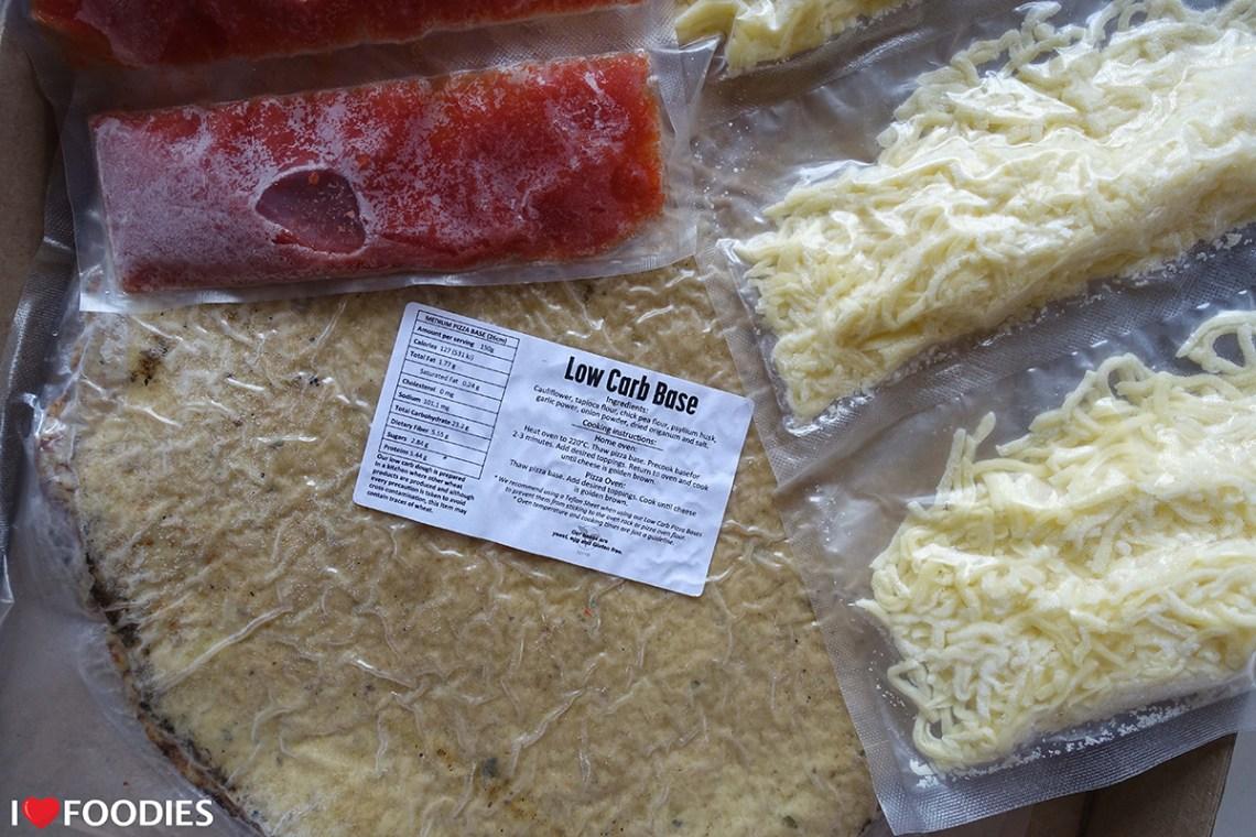 Base, Cheese, Tomato Sauce