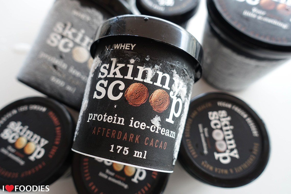 Cape Town's Best Low Carb Ice Cream: Skinny Scoop Afterdark Cacao Protein Ice Cream