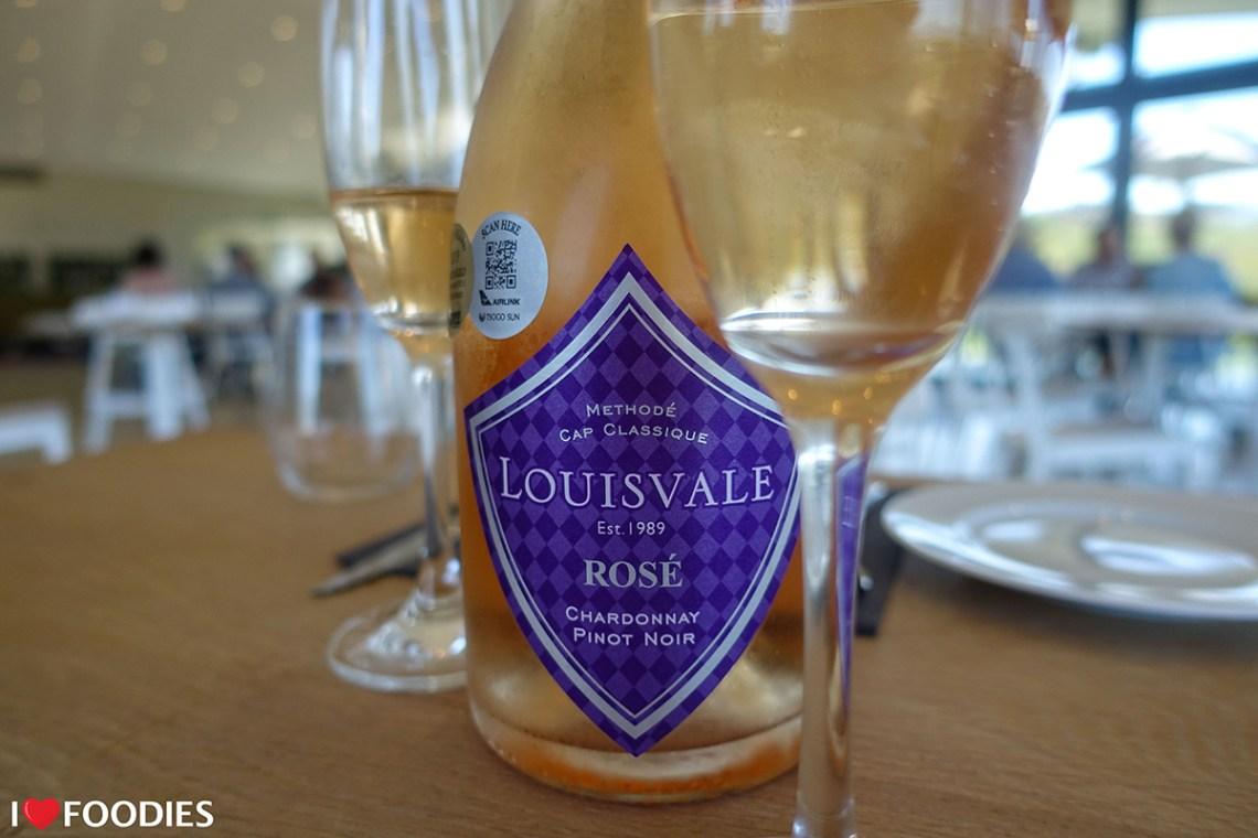 Louisvale Chardonnay Pinot Noir Rose