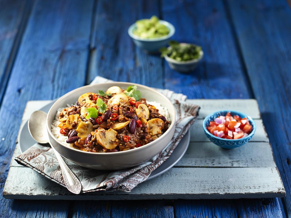 Mushroom Chilli Con Carne Recipe