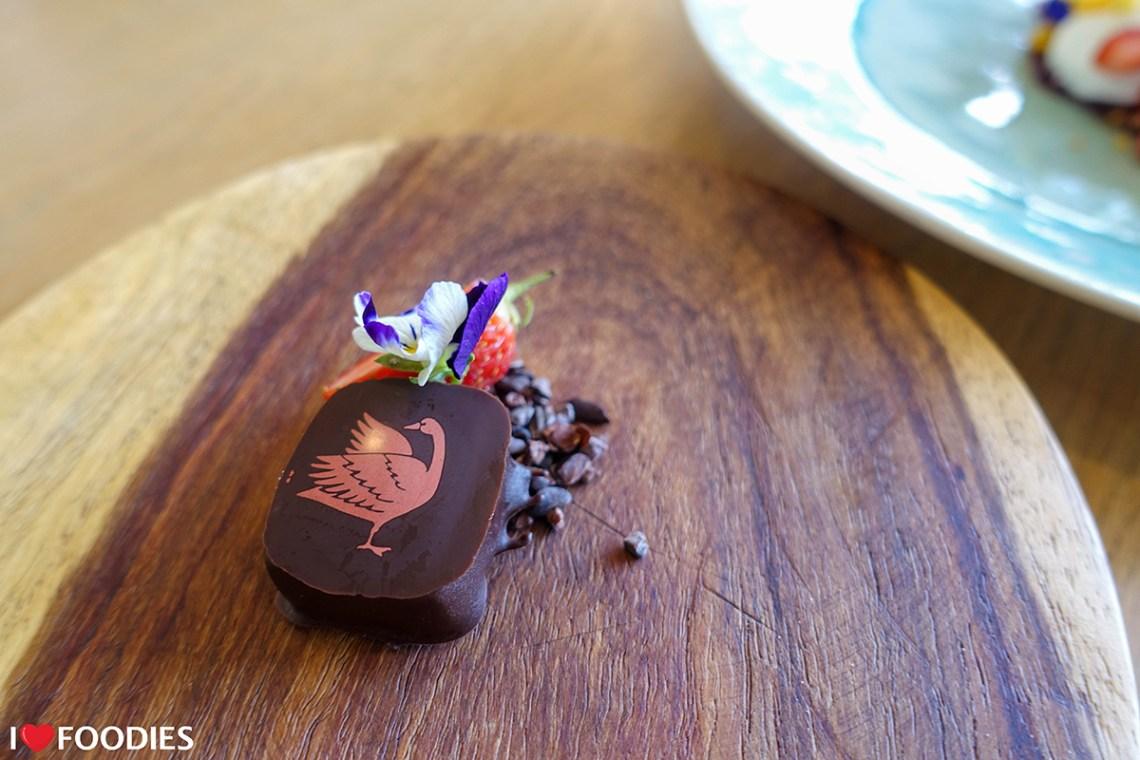 Steenberg homemade chocolate truffle
