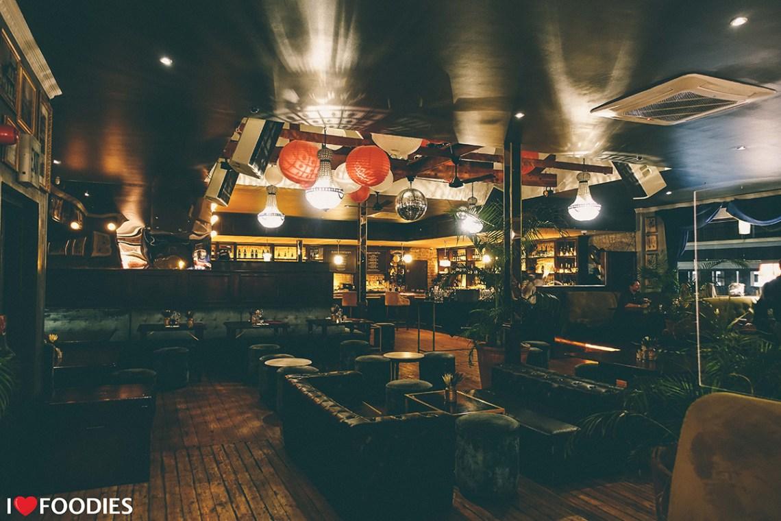 Harringtons Cocktail Lounge Cape Town Gatsbian interior design