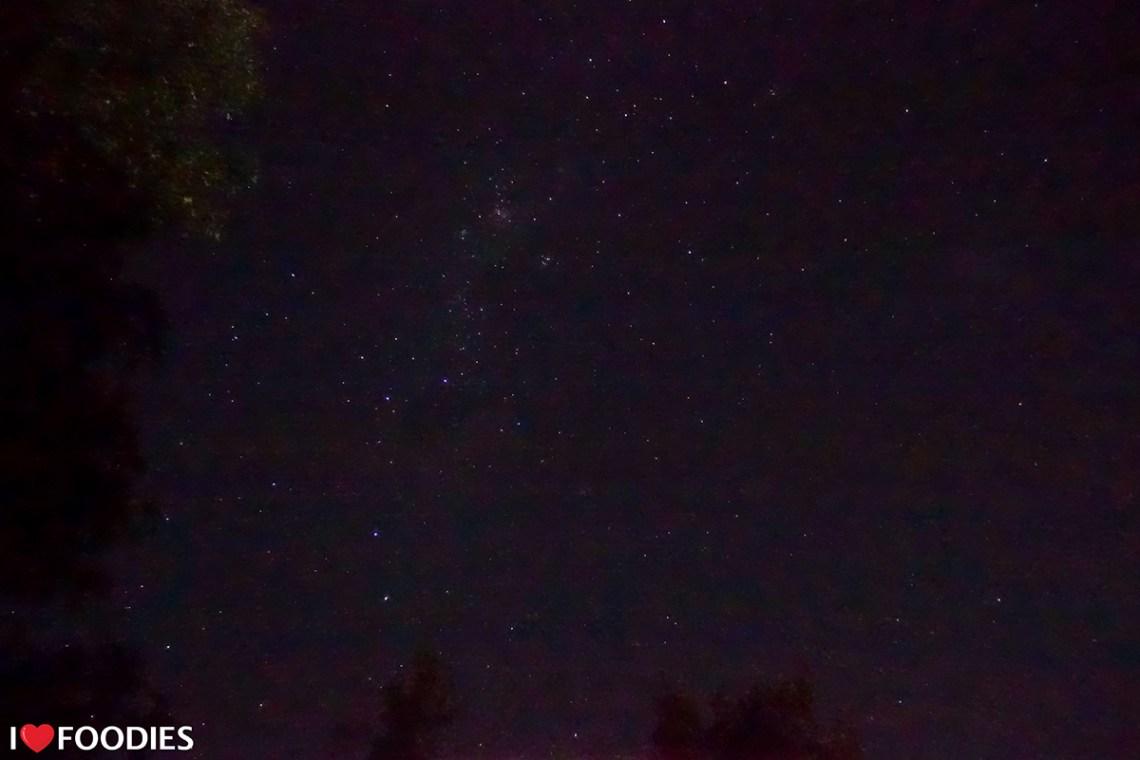Night sky in Stellenbosch