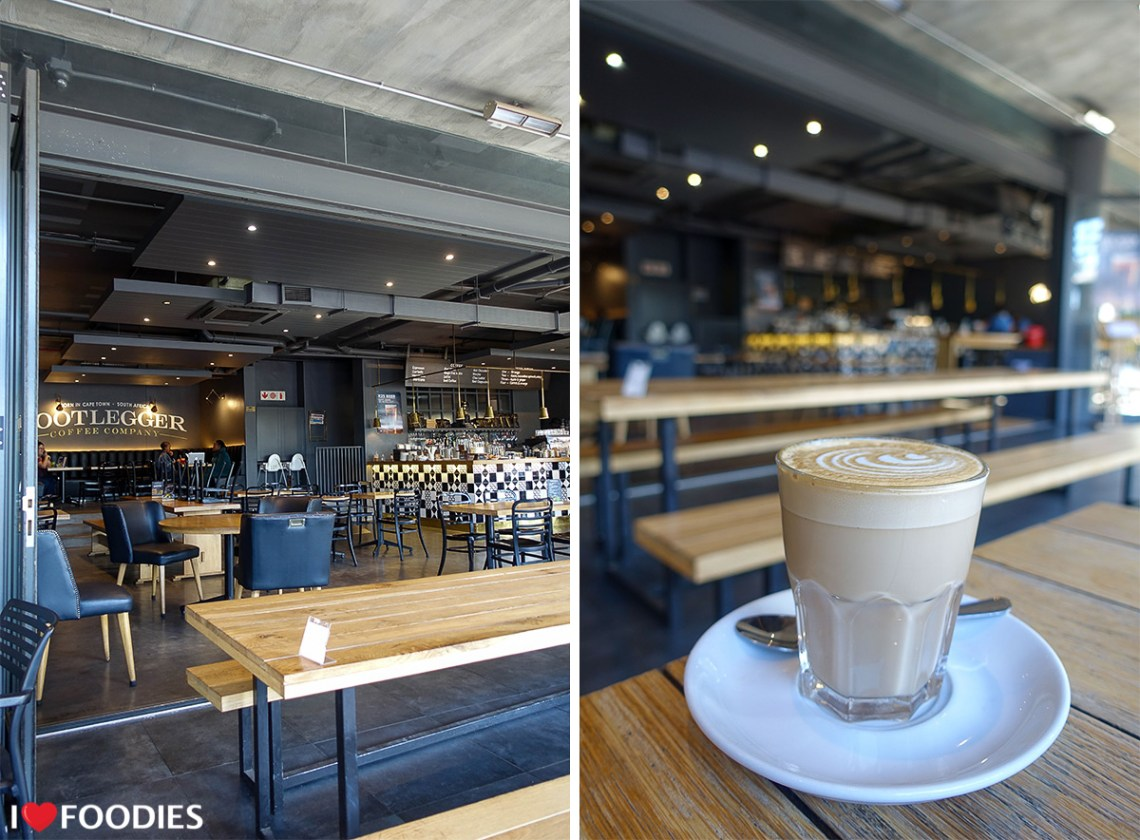 The Bootlegger Coffee Company in Green Point, Cape Town