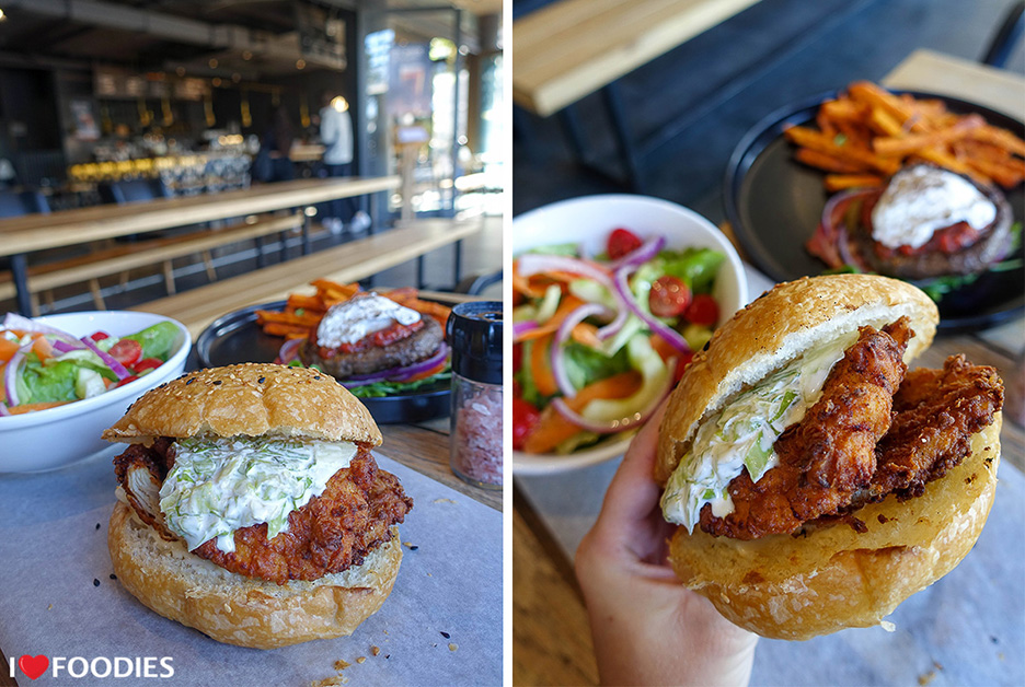 Bootlegger Coffee Company Cape Town Southern Fried Chicken Burger