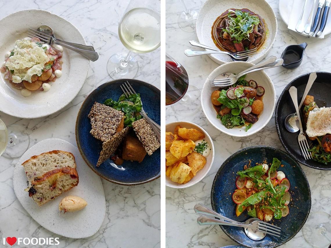 Werf restaurant tapas dishes