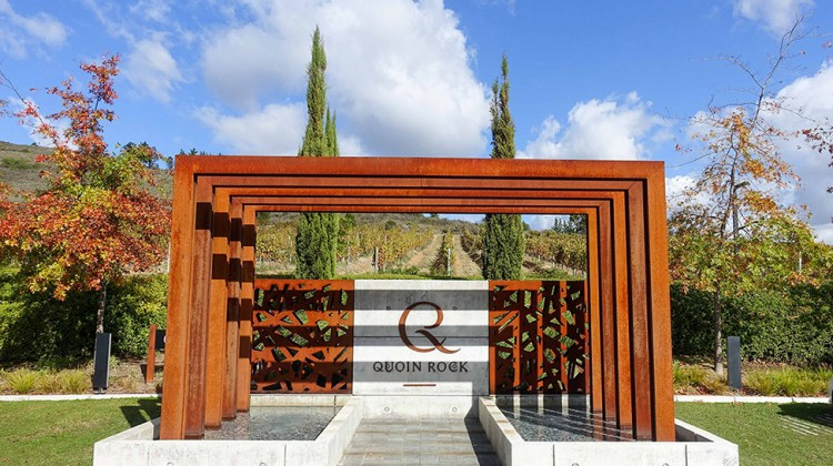 Entrance to Gate Restaurant at Quoin Rock