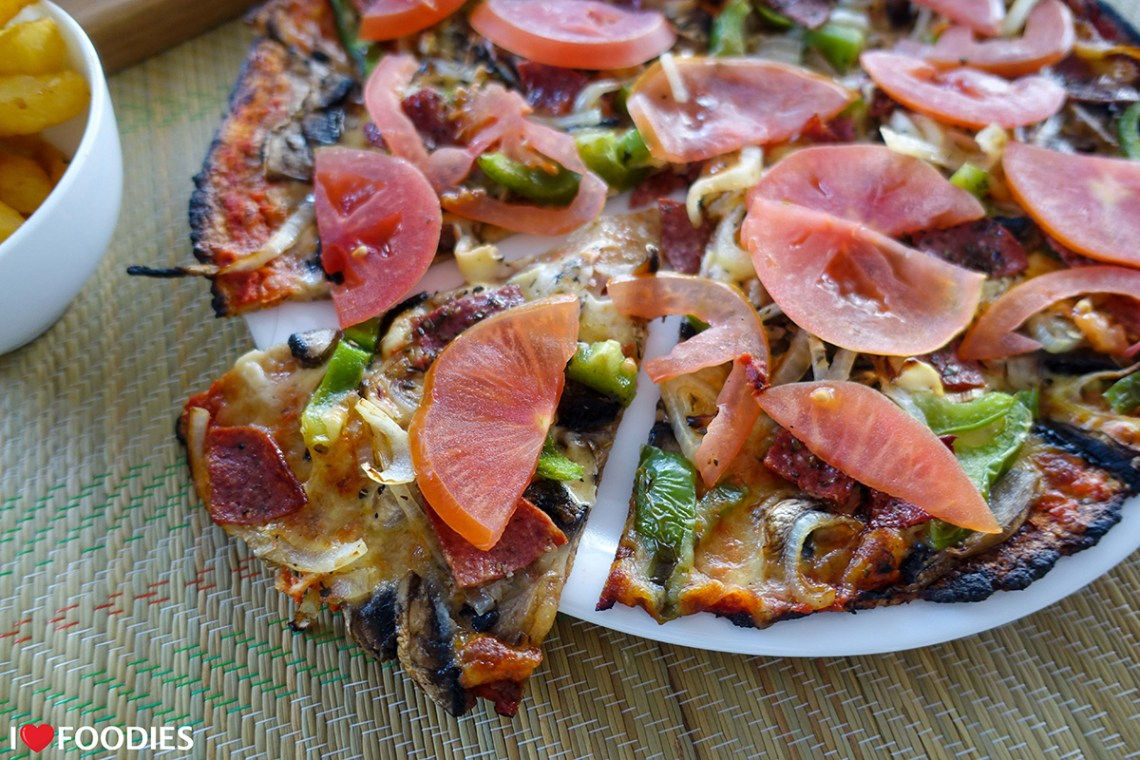Joey's low carb pizza