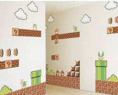 Super Mario Wall Sticker