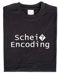 Scheiss Encoding Shirt
