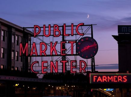 Public Market Center, Seattle, Washington
