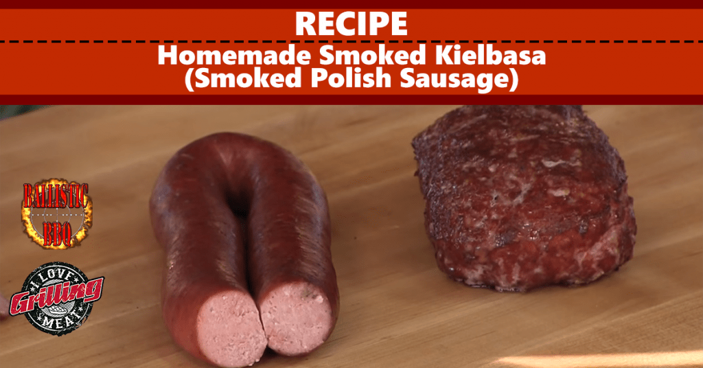 Homemade Smoked Kielbasa Recipe (Smoked Polish Sausage) FB
