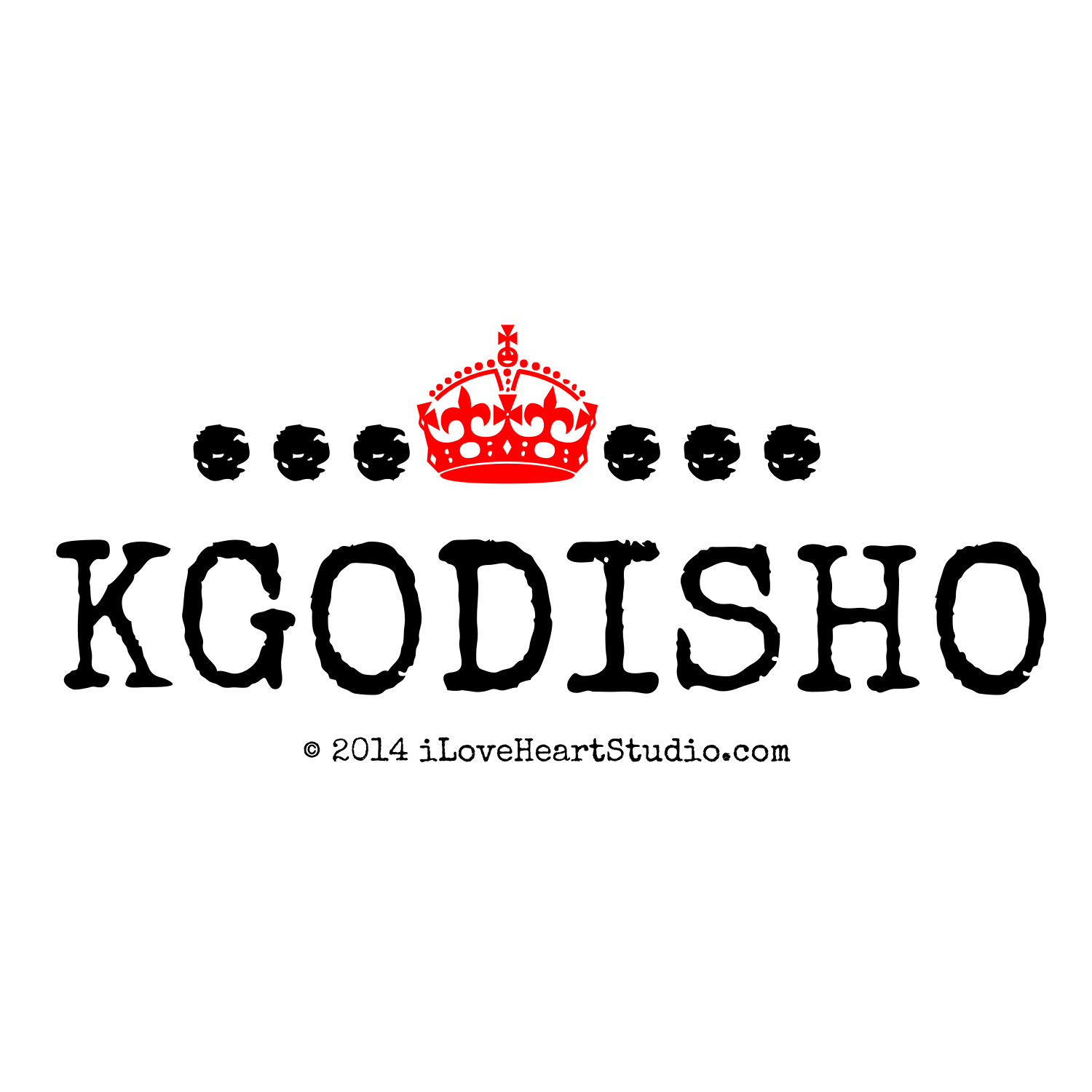 Crown Kgodisho Design On T Shirt Poster Mug And