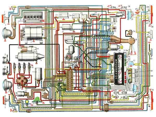 vw alternator wiring diagram rj45 socket car electrical system - maintenance tips ...