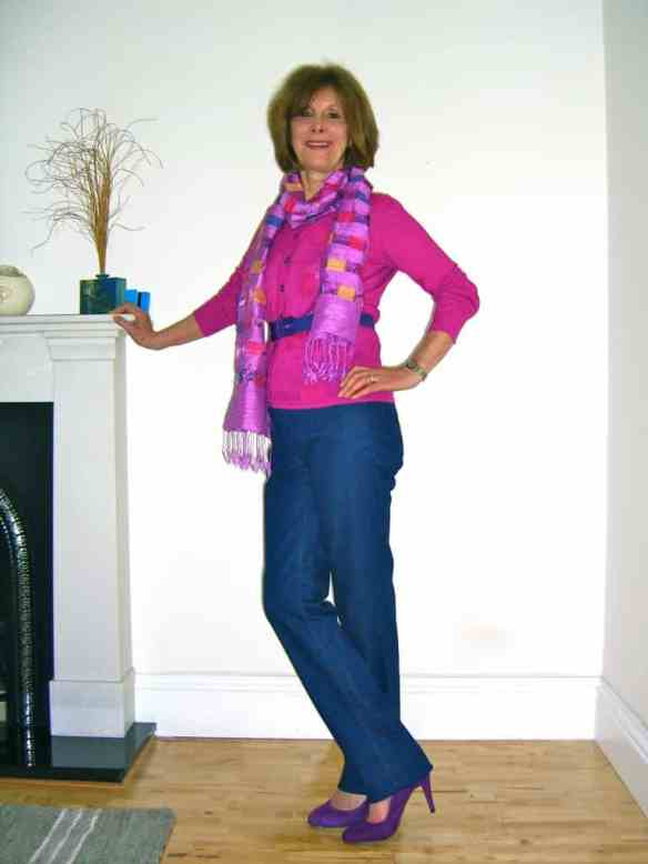 Denese modelling The Wizard Jean Sienna Midnight Jean