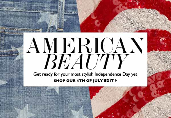 SHOP THE NET-A-PORTER 4TH OF JULY EDIT