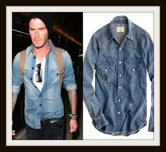 Chimala® denim western shirt GBP 312.80 by J.Crew