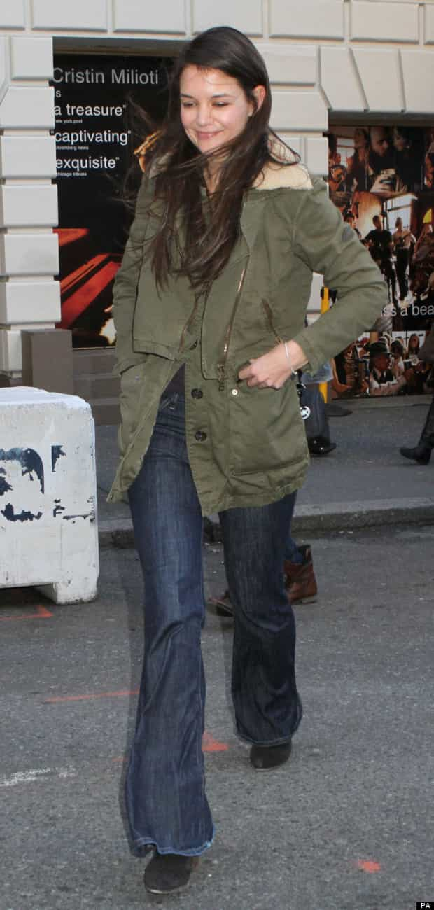 Katie Holmes Sighting - New York