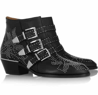 Chloé  Susanna studded leather boots £795