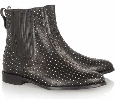 Burberry Shoes & Accessories Studded leather Chelsea boots £650