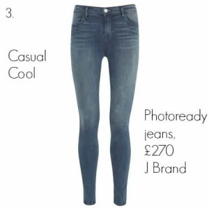 Photoready jeans, £270 J Brand