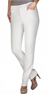 (NYDJ) Not Your Daughters Jeans Optic White Mid Rise Skinny in Cotton Twill  Regular Price: £129.95  Sale Price: £89.00