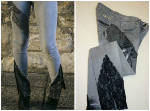 DENIMDIVAS, trifty couture, workshop, sewing, making