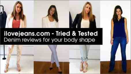Tried&Tested, Bodys shapes, jeans styles