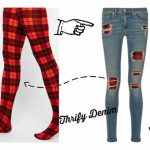 WINTER PROOF YOUR RIPPED JEANS THE THRIFTY WAY