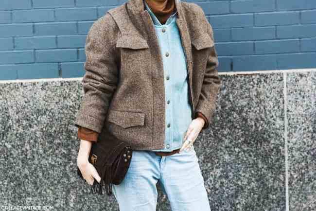 New_York_Fashion_Week-Fall_Winter_2015-Street_Style-NYFW-Layers_Double_Coat-Baseball_Jacket--790x527