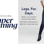 THE SLIMMING JEAN THAT'S WORTH THE WIGGLE AT GAP