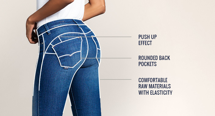 Salsa Push Up jean