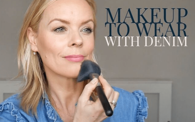 make up to wear with denim