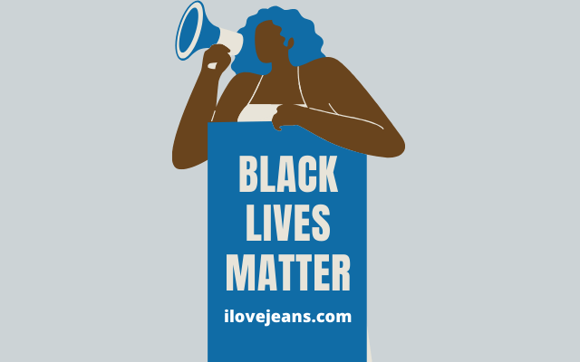black lives matters at ilovejeans.com
