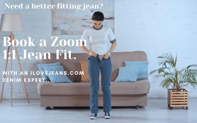 Zoom personal denim fit