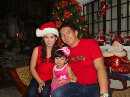 My family's picture during Noche Buena