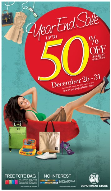 The SM Store Year-End Sale