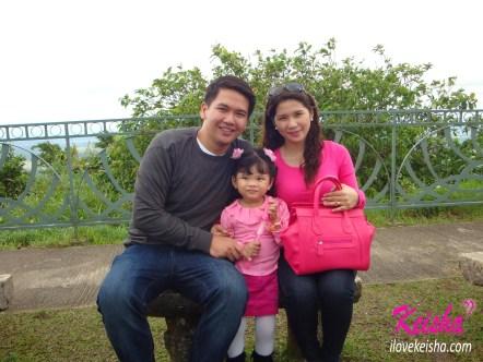 With my husband and Keisha