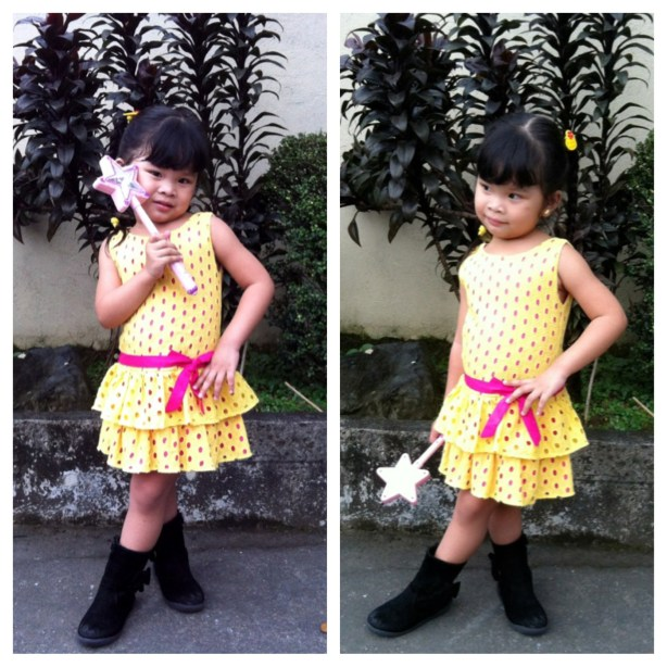 Little Fashionista In Yellow