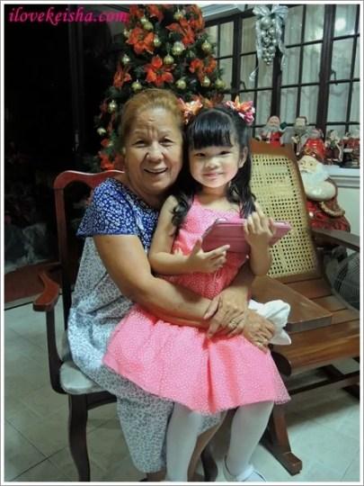 Keisha with Lola