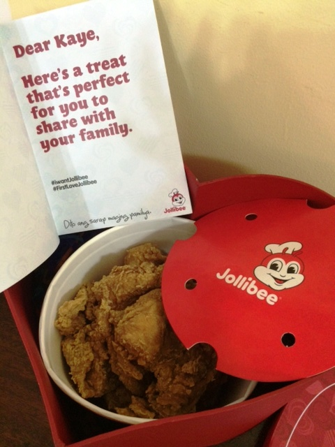 Valentine's Day Langhap Sarap Treat From Jollibee