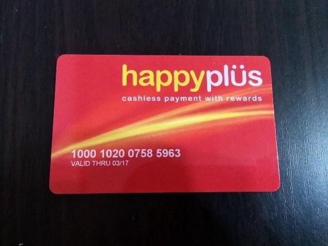 Jollibee Kids Club Happy Plus Card