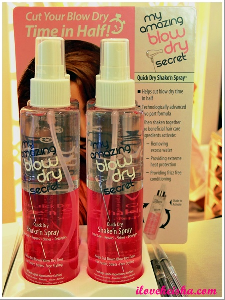 My Amazing Blow Dry Secret Quick Dry Shake 'n Spray