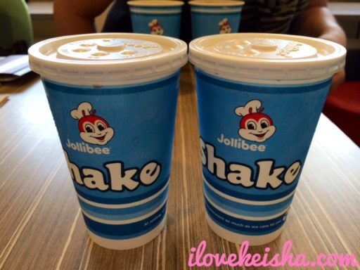 Jollibee Creamy Shake