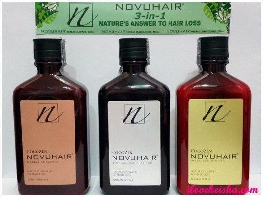 NOVUHAIR® 3-in-1